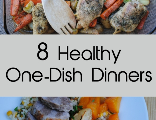 Eight healthy one dish meals