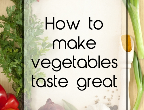 How to make vegetables taste great to reduce waste
