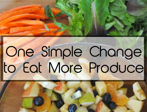 One simple change to eat more produce
