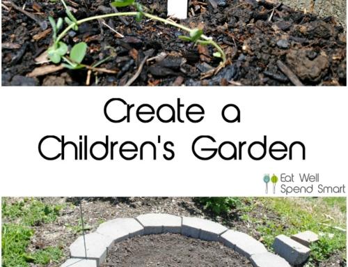 Create a children's garden