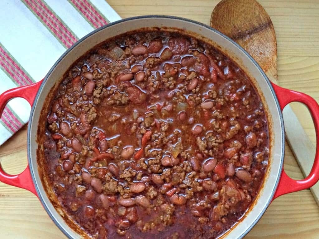 Best basic chili. Tried and true and delicious!