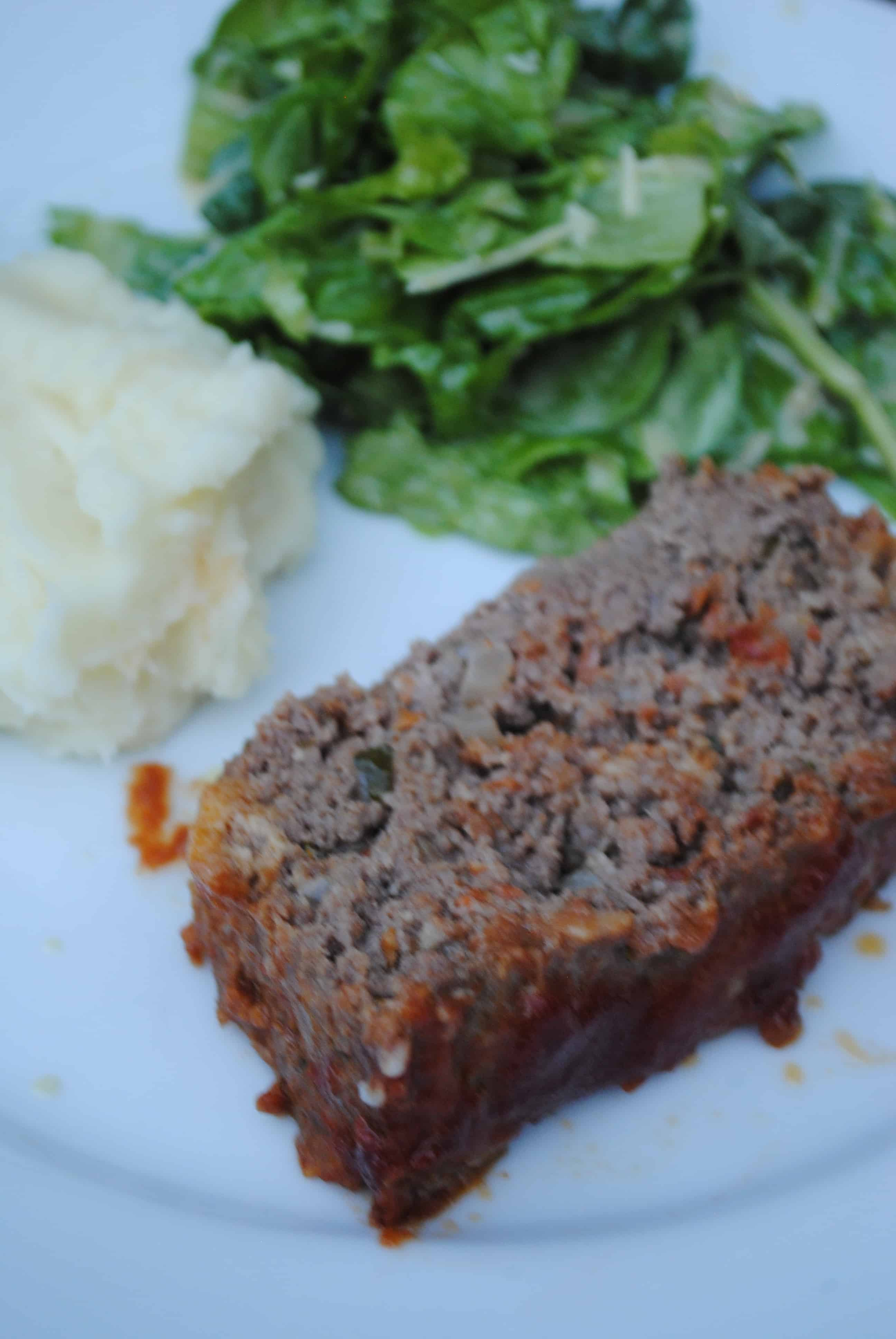 Classic Italian meatloaf