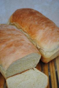 Soft white sandwich bread. Easy and delicious.