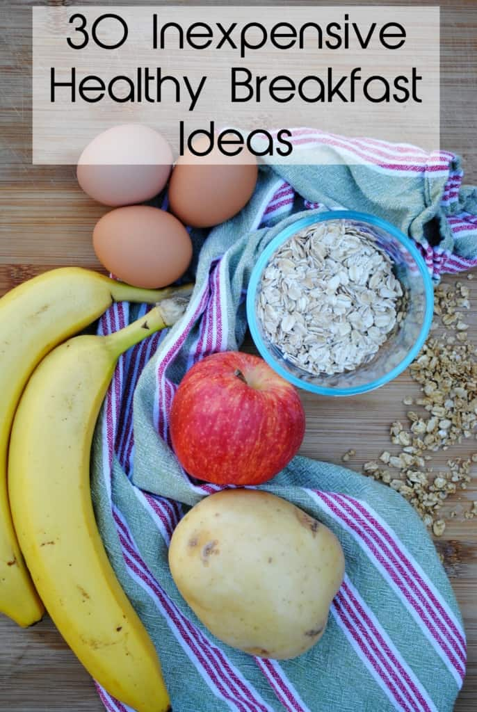inexpensive healthy breakfast ideas