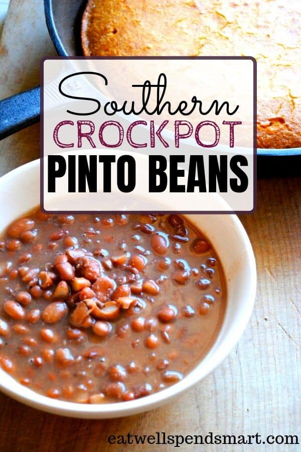 Southern crockpot pinto beans