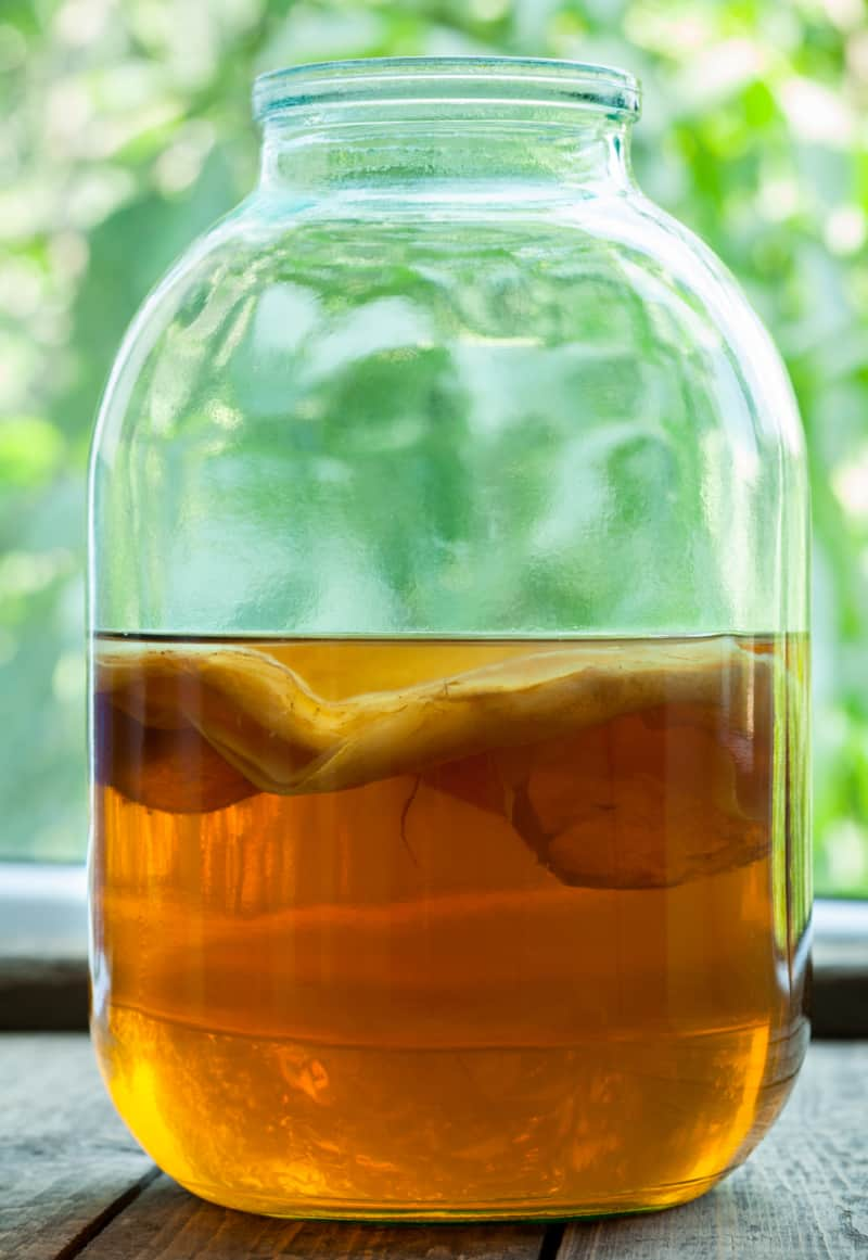 Learn how to brew kombucha with this easy tutorial. It's easier than you think.