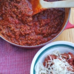 Simple homemade spaghetti sauce