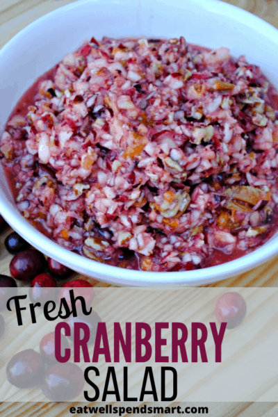 Fresh cranberry salad