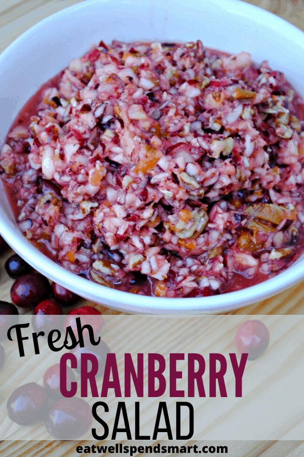 Fresh cranberry salad