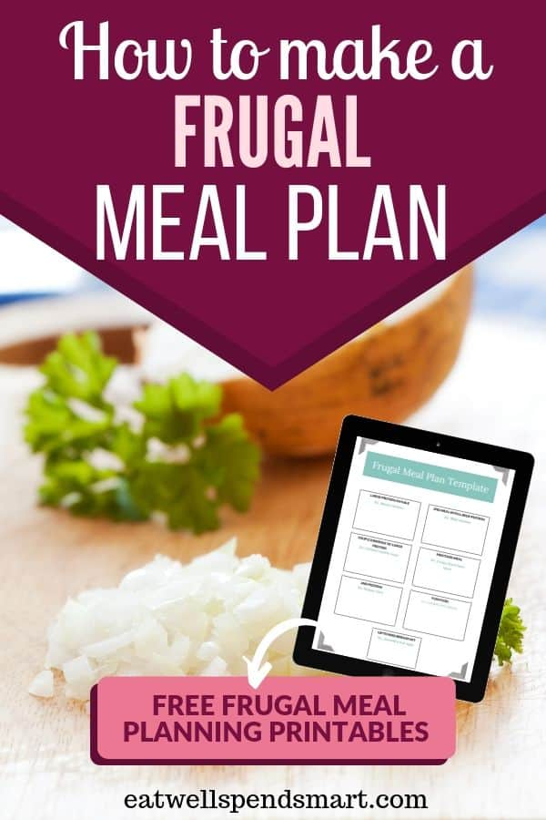 How to make a frugal meal plan