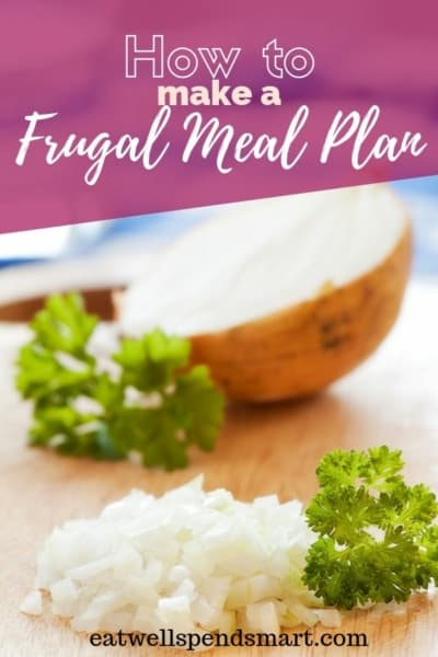 Frugal meal planning