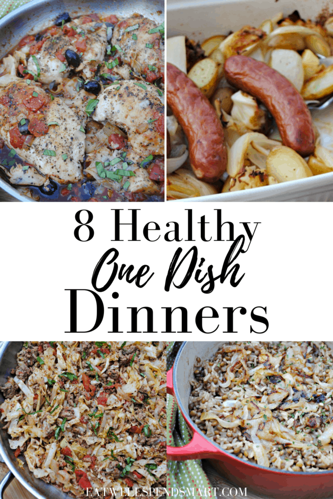 Healthy one dish dinners