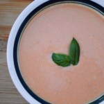 Slow cooker creamy tomato soup.