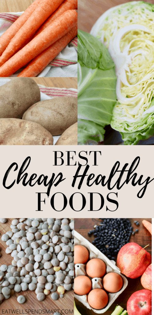 Cheap healthy foods