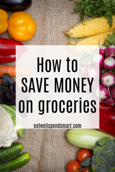 how to save money on groceries text