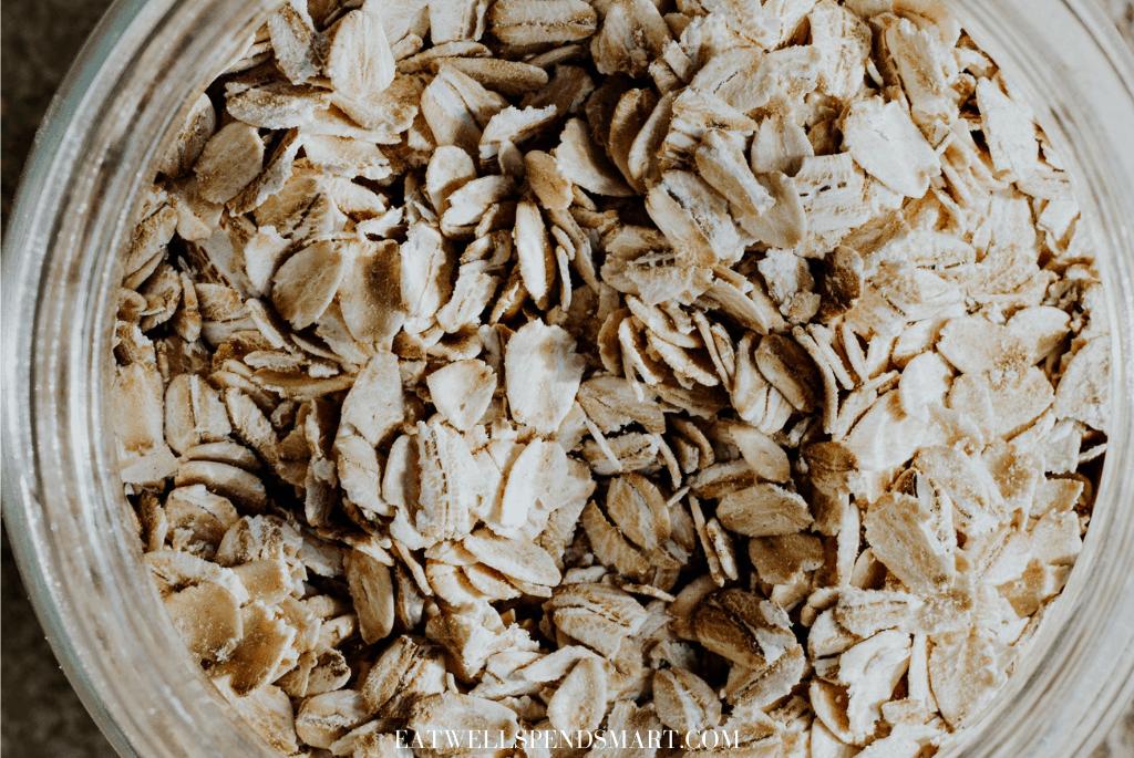 Jar of oats