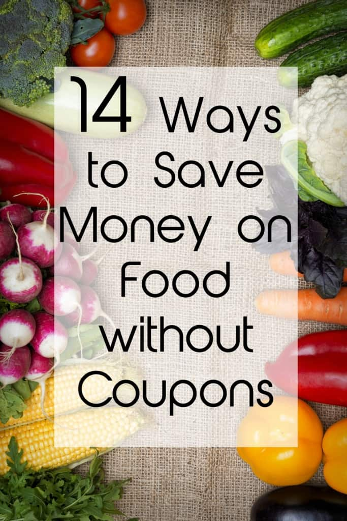 14 ways to save money on food without coupons