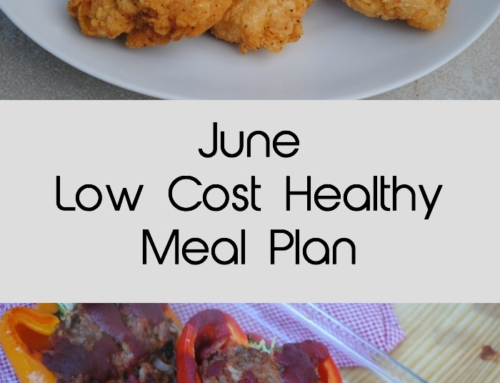 June Low Cost Healthy Meal Plan