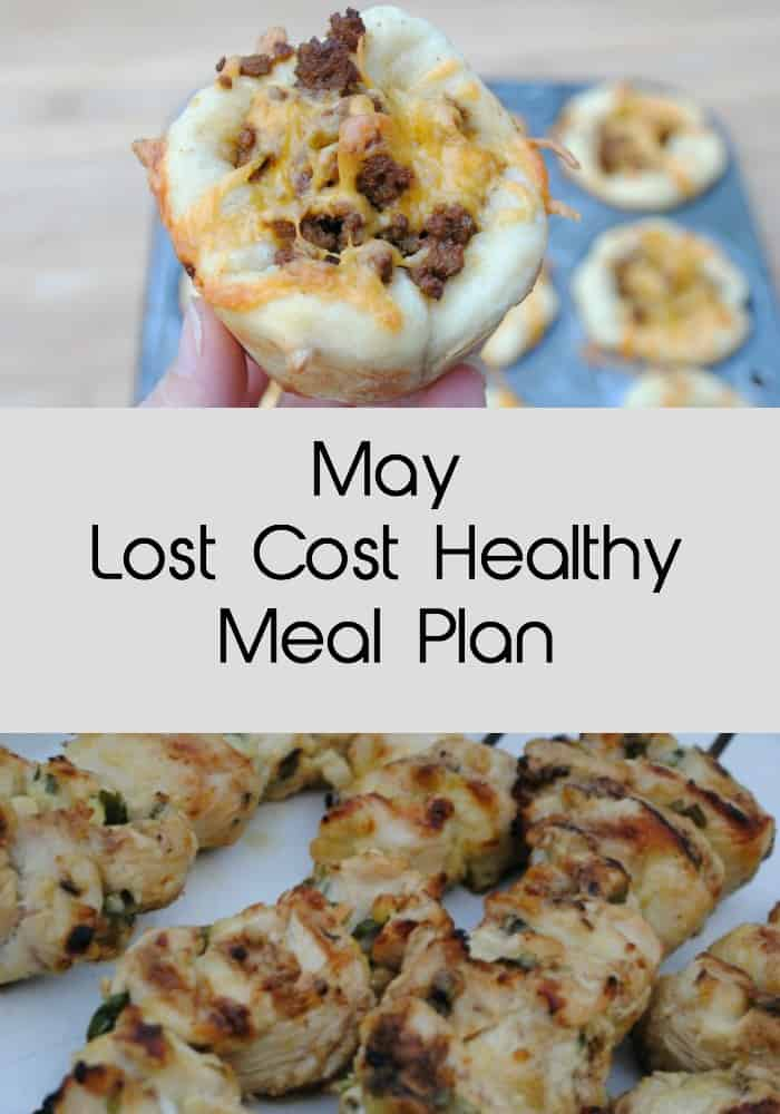 May low cost healthy meal plan