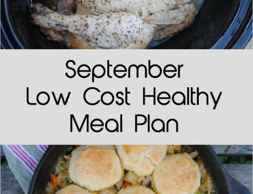 September Low Cost Healthy Meal Plan