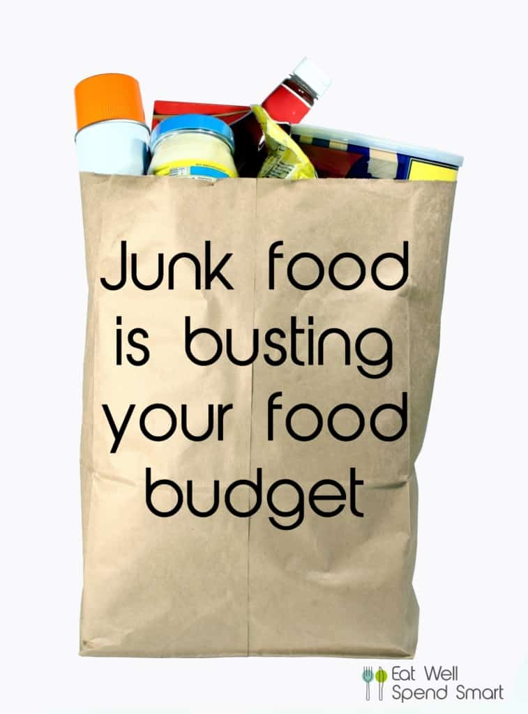 Junk food is busting your budget