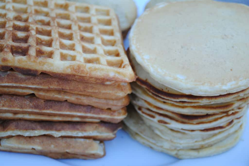waffles and pancakes