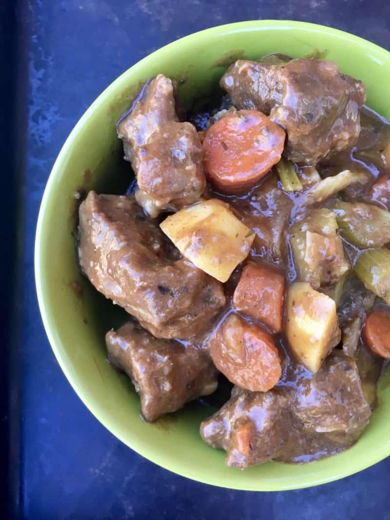 Killer Instant Pot Beef Stew
