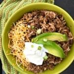 Instant Pot taco rice