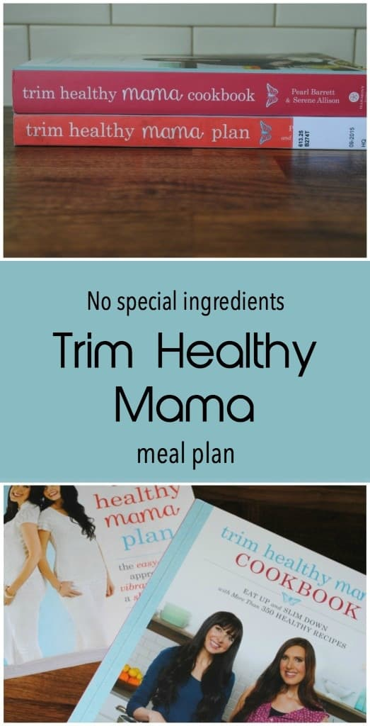 Trim healthy mama meal plan. NO special ingredients.