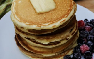 Best homemade fluffy pancakes made with simple ingredients.