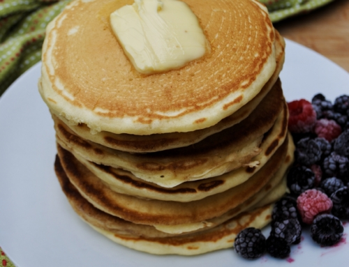 Best homemade fluffy pancakes