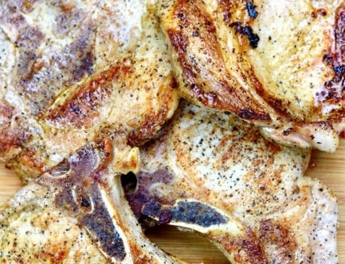 Simple skillet pork chops: a beginner recipe