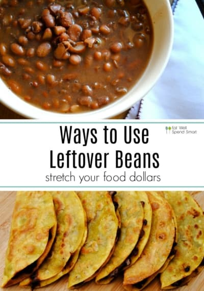 Ways to use leftover beans