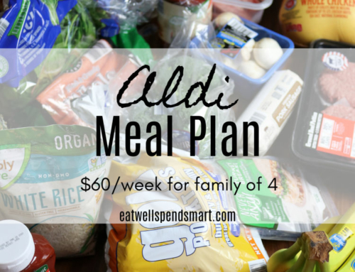 Aldi meal plan: $60/week
