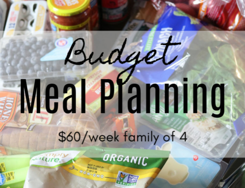 Budget Meal Planning ($60 Challenge Week 3)