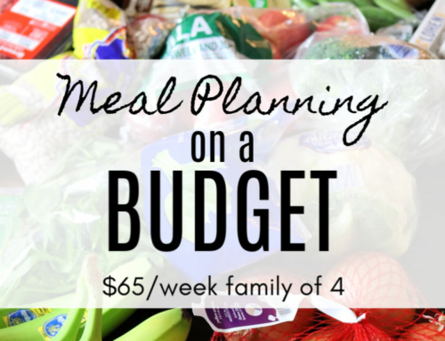 Meal planning on a budget ($60/week challenge #2)