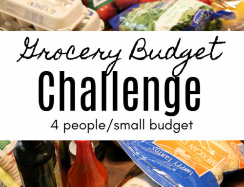 Grocery Budget Challenge (Week 4)