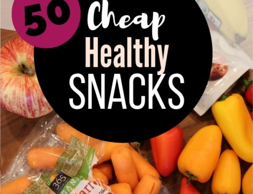 50 Cheap Healthy Snacks