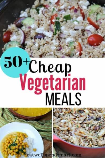 cheap vegetarian meals