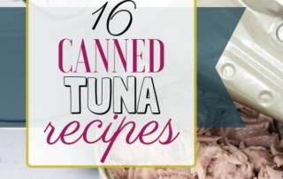 Canned tuna recipes
