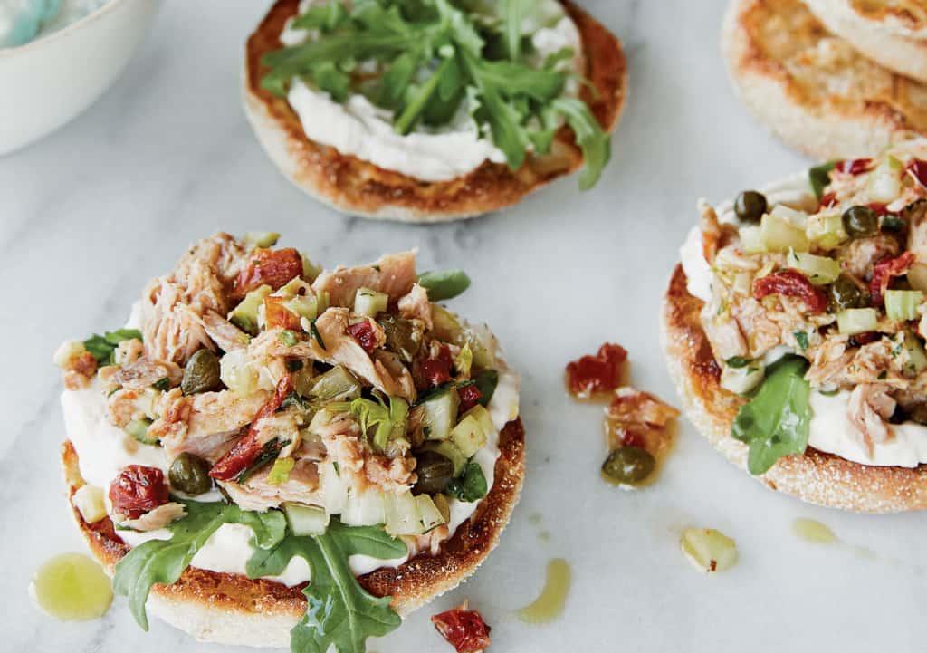 Sicilian tuna salad- canned tuna recipes