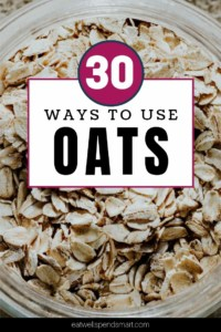 Ways to use oats