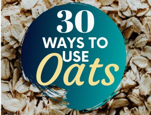 30 Recipes using oats-a cheap pantry staple