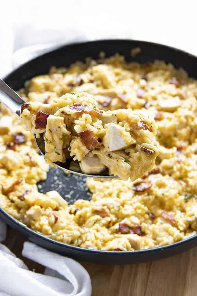 Chicken bacon ranch rice