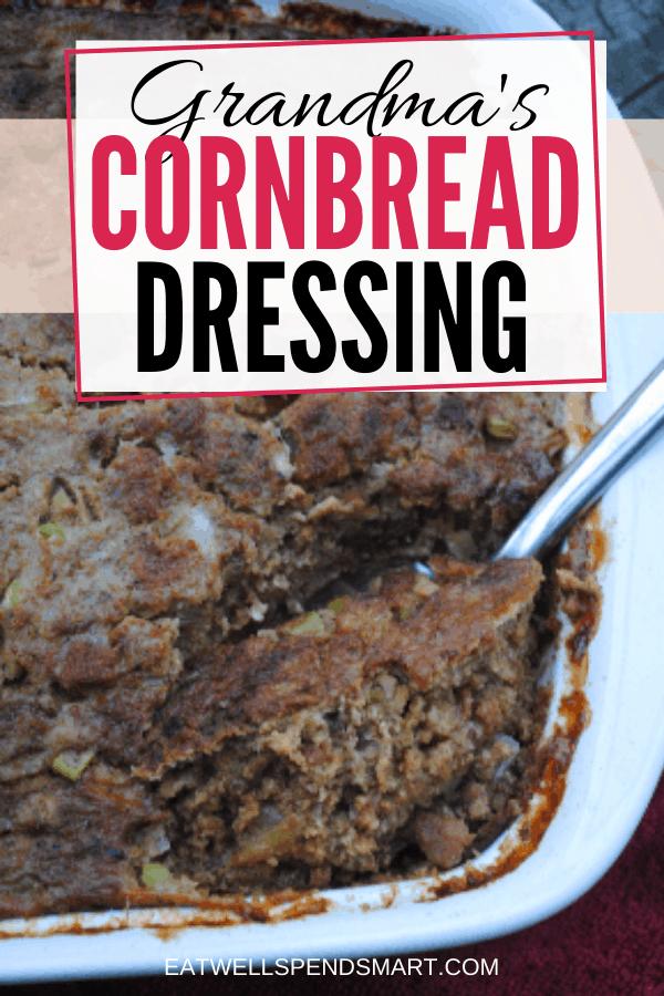 Grandma's cornbread dressing