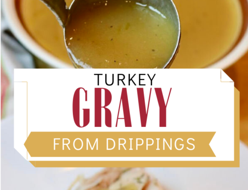 Delicious Turkey Gravy From Drippings