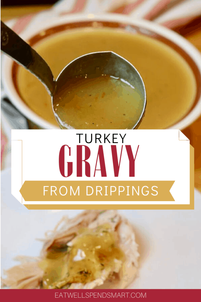 Turkey gravy from drippings