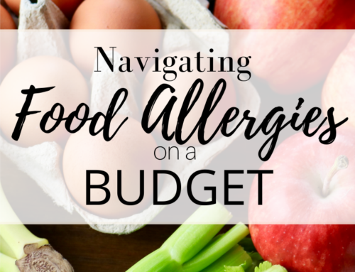 Navigating food allergies on a budget