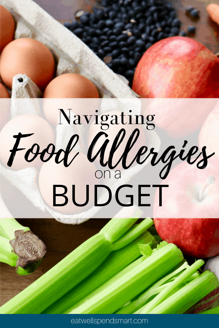 food allergies on a budget
