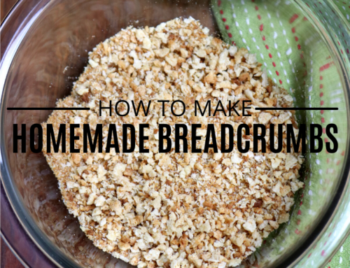 How to Make Homemade Breadcrumbs